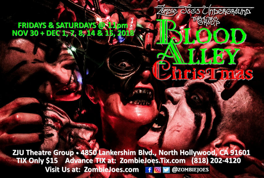 bLOOD aLLEY cHRISTMAS AT zju tHEATRE